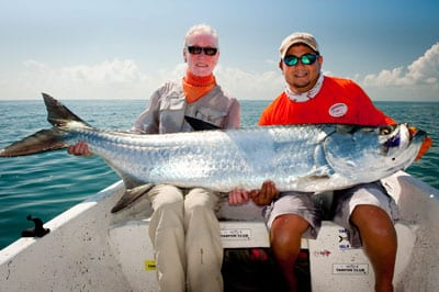 Martin Joyce and his Giant Tarpon