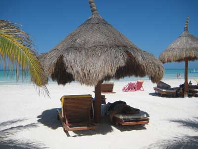 Lounging on Holbox Island